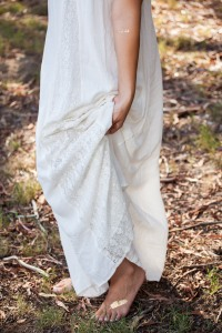 White Bohemian Dress - jakeandjacqueline.com